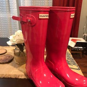 Hunter Shoes - Girls Hunter rain boots